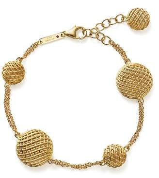 Roberto Coin 18K Yellow Gold Silk Bracelet