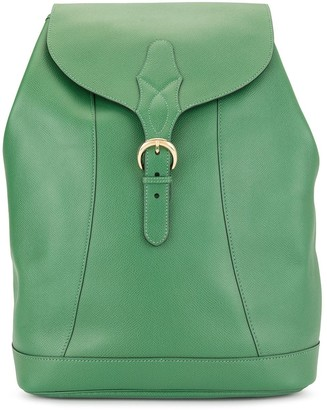 Hermes Pre-Owned logos backpack bag