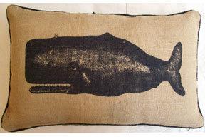 Thomas Paul Moby Jute Pillow