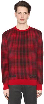 Geelong Lambs Wool Plaid Sweater $571 thestylecure.com