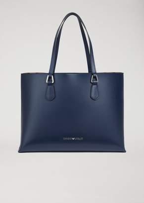 Emporio Armani Faux Leather Shopper