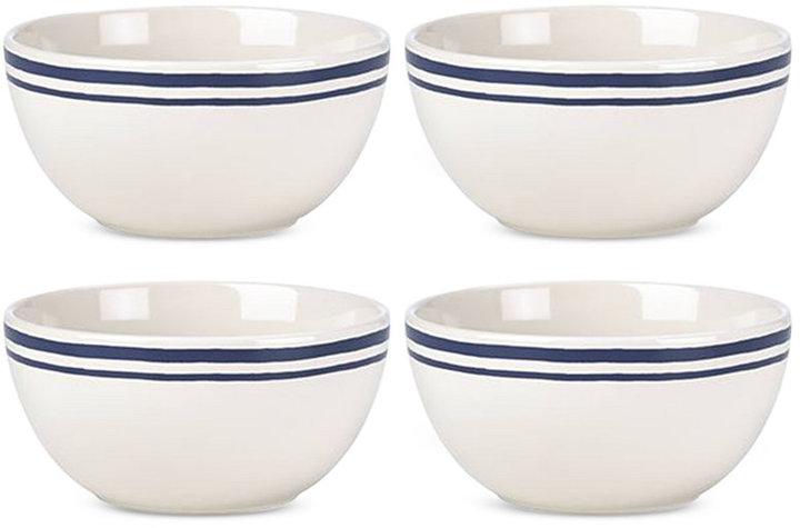 kate spade new york Order's Up Striped Set of 4 Bowls
