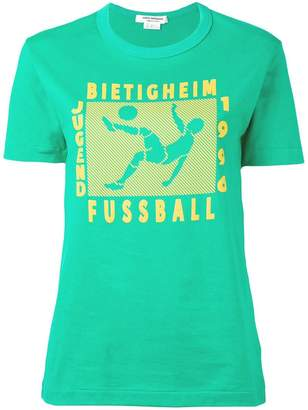 Junya Watanabe football print T-shirt