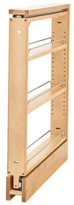 Rev-A-Shelf Rev A Shelf RS438.BC.3C Door PullOut Base Organizer with Upper Slide, Maple - 3 in.