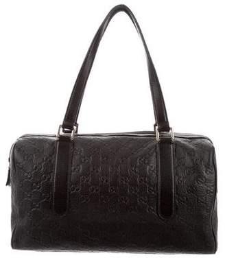 Gucci Guccissima Boston Bag