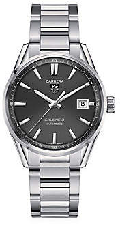 Tag Heuer Carrera 39MM Stainless Steel Automatic Bracelet Watch
