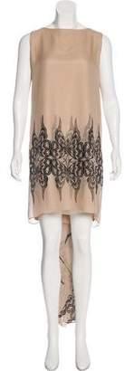 Thomas Wylde Sleeveless Silk Dress