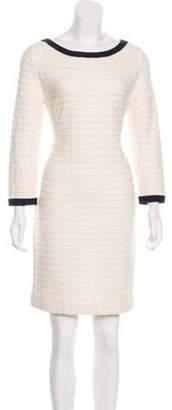 Chanel Matelassé Mini Dress navy Matelassé Mini Dress