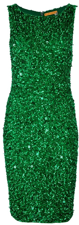 Alice + Olivia Alice+Olivia beaded dress