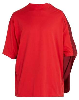 Y/project - Double Layered Cotton T Shirt - Mens - Red