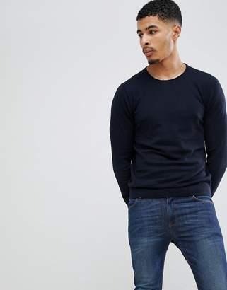 Celio Knitted Sweater In Cashmere Blend