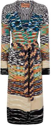 Missoni Knitted Long Cardigan