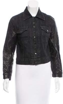 Current/Elliott Denim Button-Up Jacket