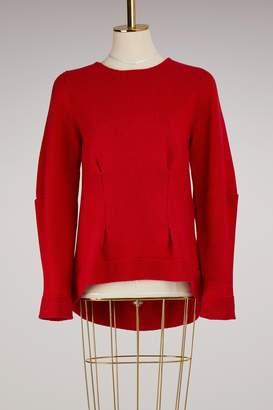 Alexander McQueen Wide Crewneck Cashmere Sweater