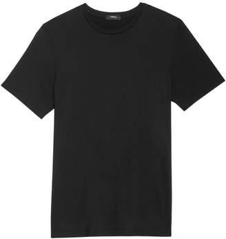 Theory Incisive Silk Blend T-Shirt
