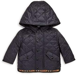 93fac28ad57 Burberry Boys  Ilana Quilted Hooded Jacket - Baby