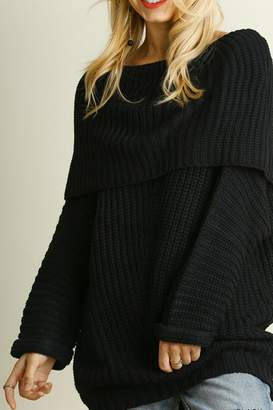 Umgee USA Cozy Ribbed Sweater