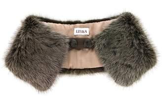 Braun Liska fur collar