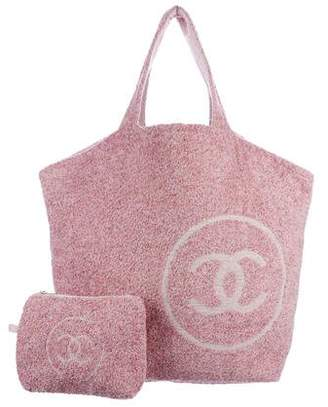 Chanel 2018 CC Towel & Tote Set
