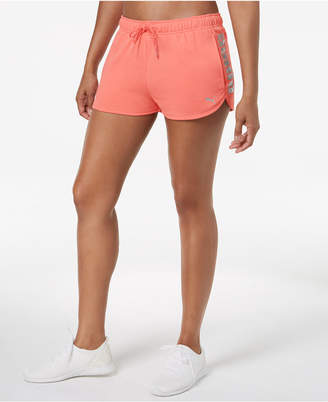 Puma Metallic-Logo Terry Shorts