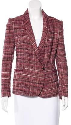 Etoile Isabel Marant Bouclé Shawl Collar Blazer