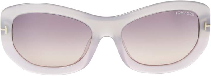 Tom Ford Women's Amy Tinted Oval Frame