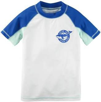Carter's Boys 4-8 Printed Raglan Rash Guard