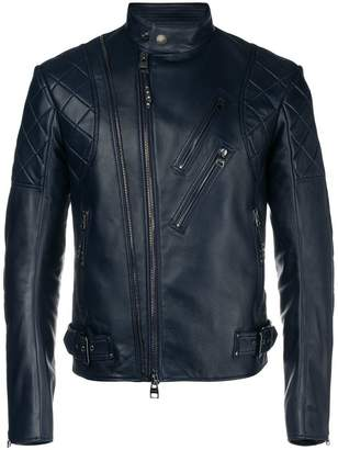 Alexander McQueen quilted leather jacket