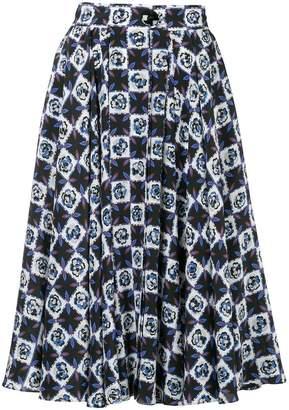 Emilio Pucci (エミリオプッチ) - Emilio Pucci all-over print skirt