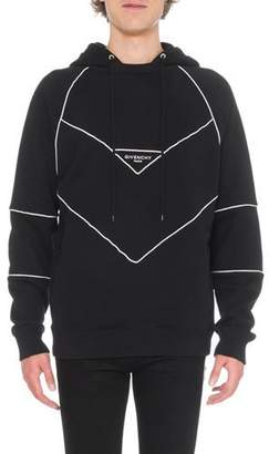 Givenchy Men's Hoodie with Piping