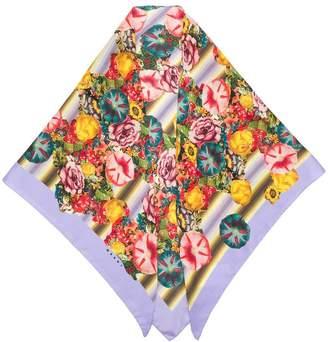 Marni silk floral scarf
