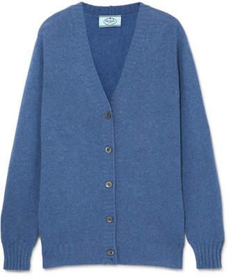 Prada Cashmere Cardigan - Blue