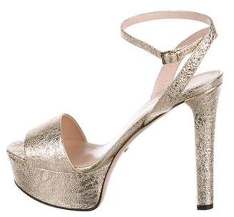 Gucci Leila Platform Sandals w/ Tags