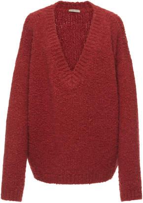 Bottega Veneta Textured V-neck Sweater