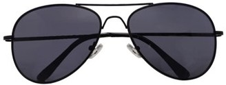 Pop Fashiowear Inc Classic Aviator Color Lens Sunglasses Small Size Spring Hinge Temple 2480
