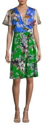 Diane von Furstenberg Flutter Sleeve Dress