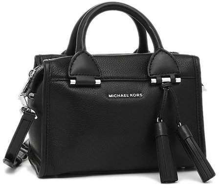 Michael Kors Geneva Large Leather Satchel - Black - 30F6STXS1L-001 - BLACK - STYLE
