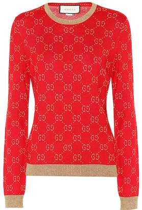 Gucci Cotton-blend sweater