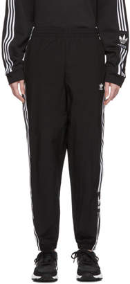 adidas Black Lock Up Lounge Pants