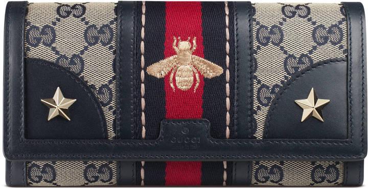 GucciVintage Web Original GG wallet
