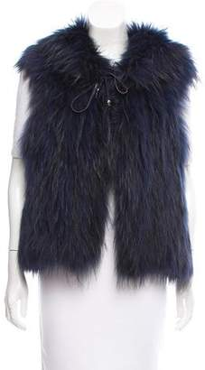 Zadig & Voltaire Knitted Fur Vest