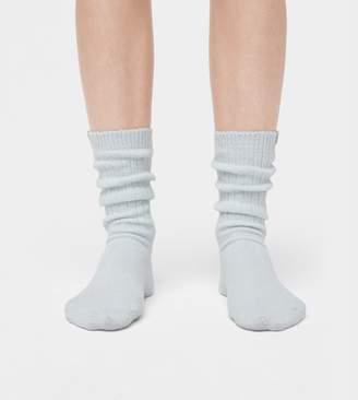 UGG Rib Knit Slouchy Crew Sock