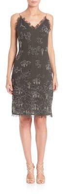 Elie Tahari Remsen Dress $498 thestylecure.com