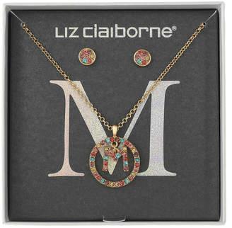 Liz Claiborne 2-pc. Multi Color Jewelry Set