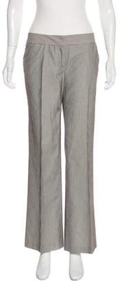 Diane von Furstenberg Falconer Mid-Rise Wide-Leg Pants