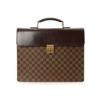 Louis Vuitton Briefcase Altona Damier Ebene PM Brown