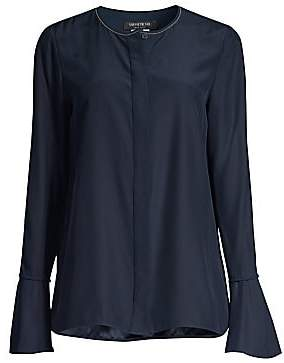 Lafayette 148 New York Women's Izzie Silk Blouse