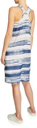 Lilla P Striped High-Low Tank Dress