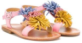 Gallucci Kids flower detail sandals