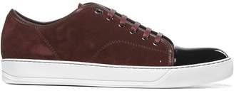 Lanvin Capped Toe Sneakers